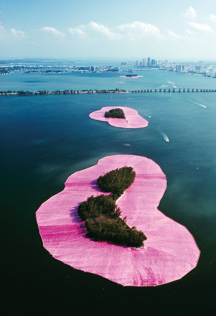 Greater Miami, Florida (1980–83), Christo and Jeanne-Claude.