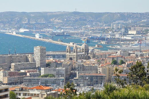 View of Marseille.