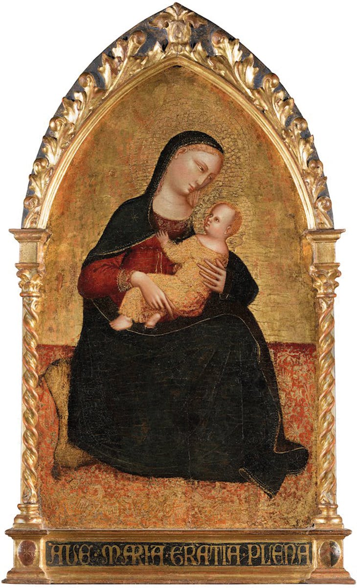 Madonna and Child (c. 1375), Lorenzo di Bicci. Salamon, €250,000