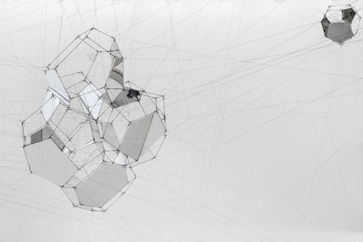 Sundial for Spatial Echoes (2019), Tomás Saraceno.