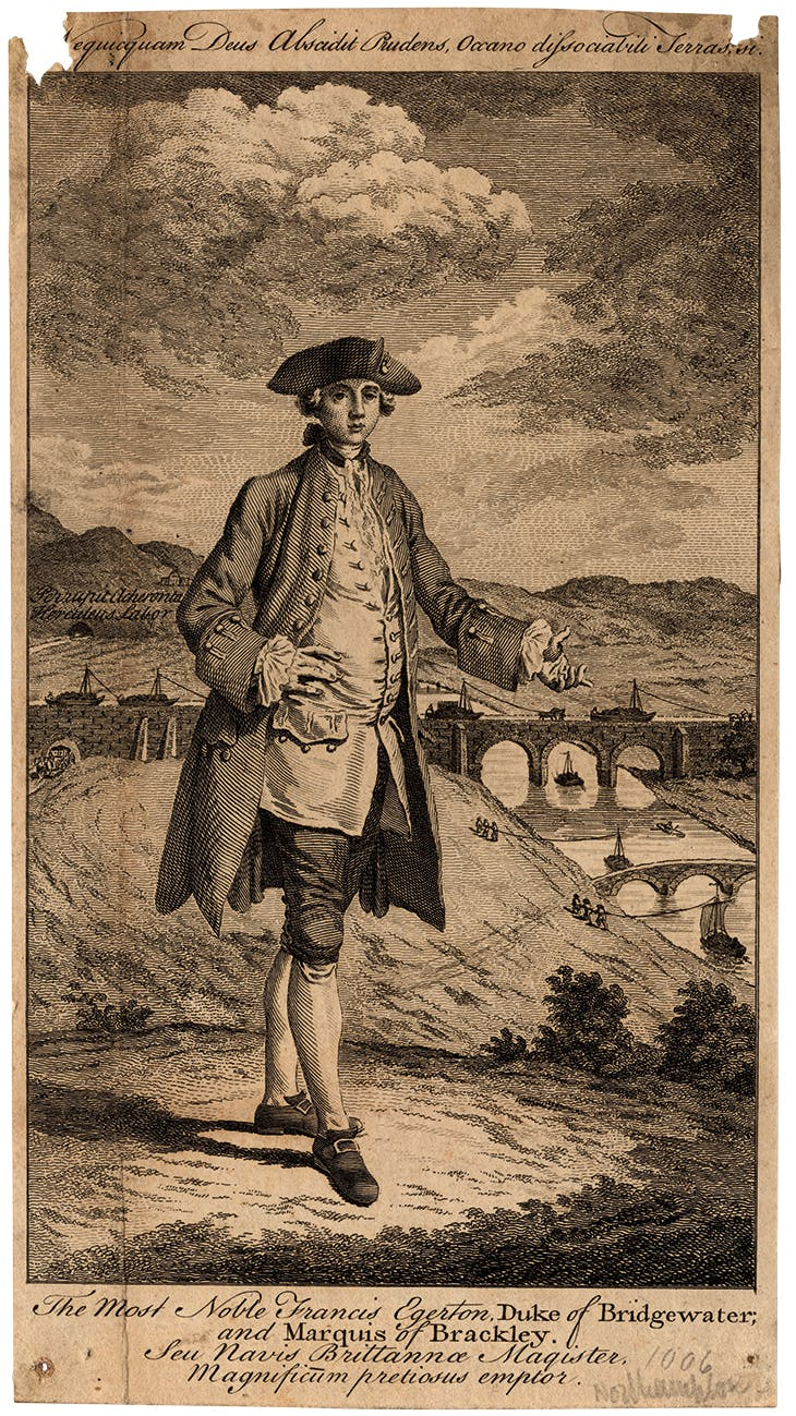 Francis Egerton, 3rd Duke of Bridgewater (1766), after unknown artist.