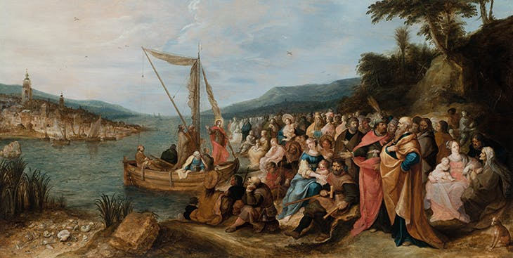Jesus Preaching on the Sea of Galilee (1631), Frans Francken the Younger.