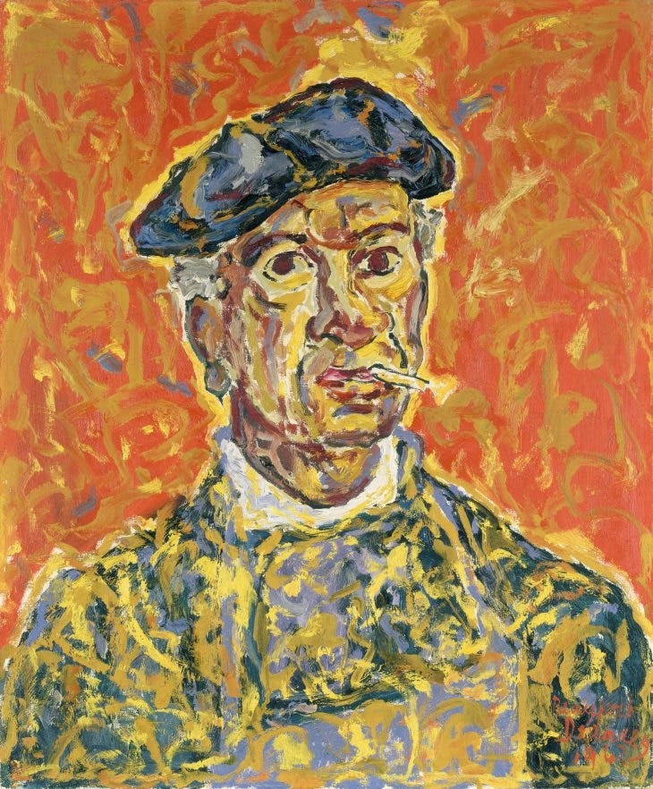 Self-Portrait, (1962), Beauford Delaney. Courtesy Michael Rosenfeld Gallery LLC, New York; © Estate of Beauford Delaney, by permission of Derek L. Spratley, Esquire, Court Appointed Administrator