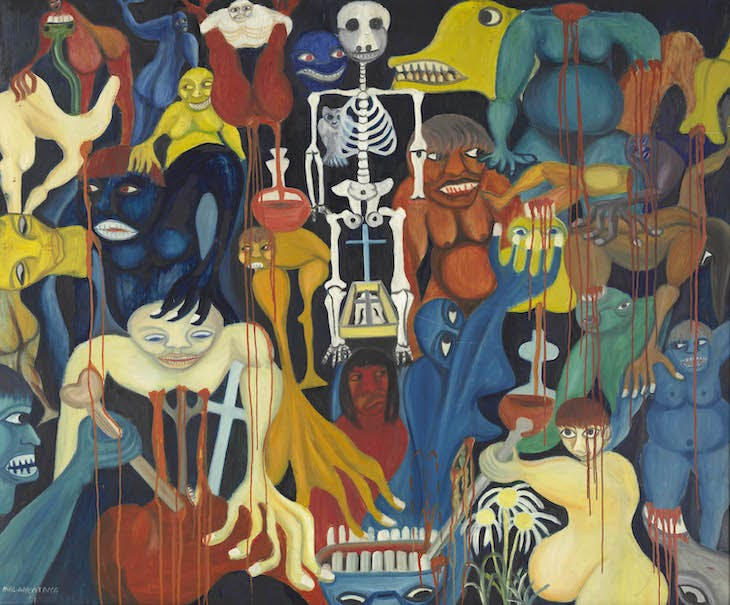 The Fountain of Blood (A fonte de sangue) (1961), Cleveland Museum of Art.