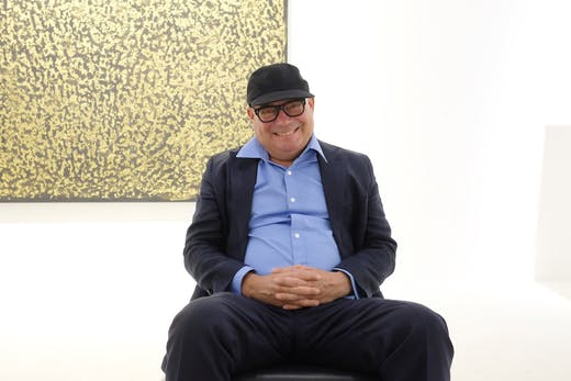 Paul Kasmin at Art Basel Miami Beach in 2018.