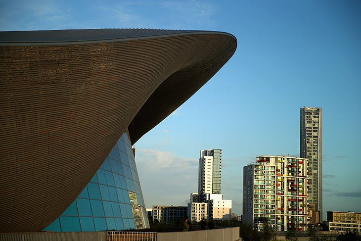 The London Aquatics Centre, designed by Zaha Hadid for the 2012 Olympic Games. Photo: Clive Rose/Getty Images