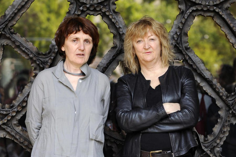 Shelley McNamara and Yvonne Farrell in 2009.