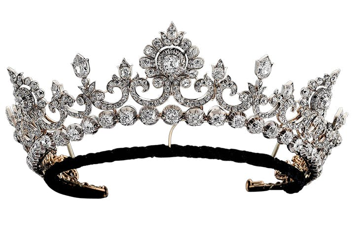 The Anglesey Tiara (c. 1890). Hancocks, price on application