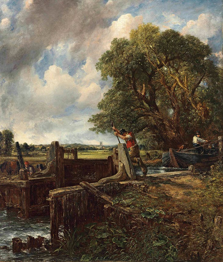 The Lock (1824), John Constable.
