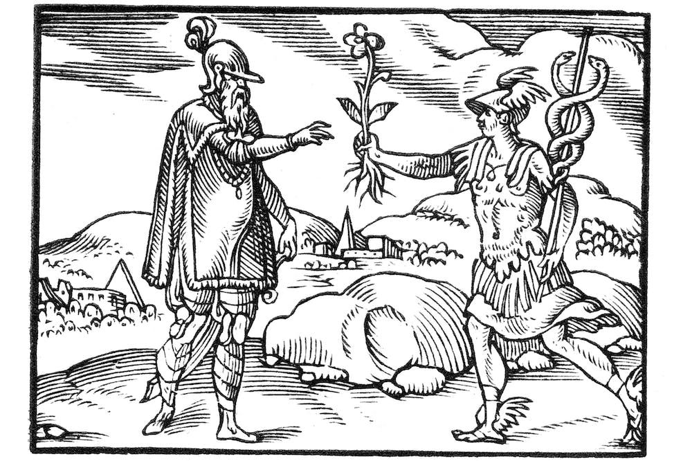 Facundia Difficilis (Eloquence Takes Effort) (1573), unknown artist.