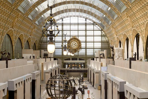 The Musée d'Orsay in Paris.