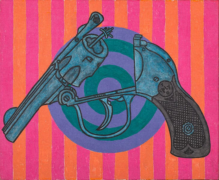 Revolver and Target (1970), William N. Copley.