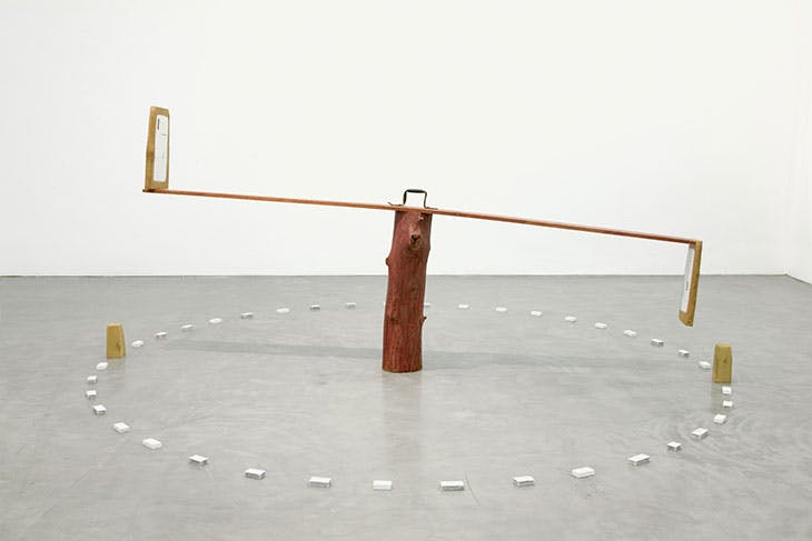 See Saw (1974), Ree Morton. Courtesy Catherine and Will Rose; © Estate of Ree Morton