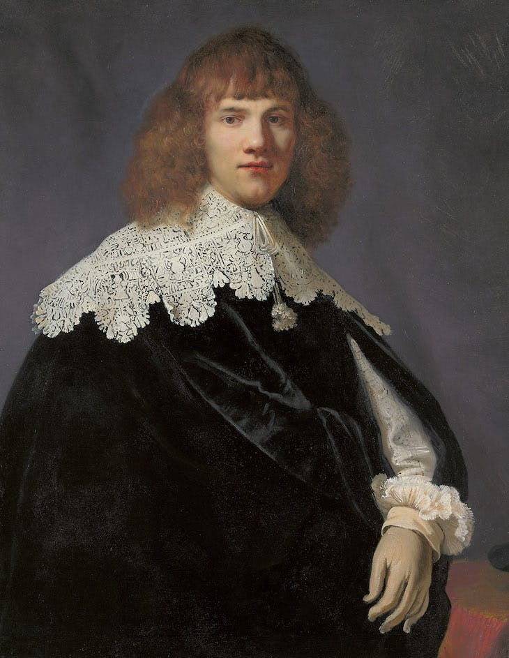 Portrait of a Young Gentleman (1633–34), Rembrandt.