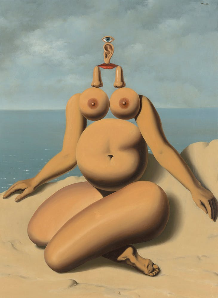 The White Race (1937), René Magritte.