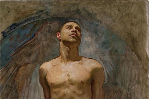 Thomas McKeller (detail) (1917–21), John Singer Sargent. Museum of Fine Arts, Boston