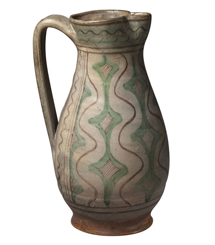 Jug (late 14th/early 15th century), probably Tuscany. Courtesy Victoria and Albert Museum, London