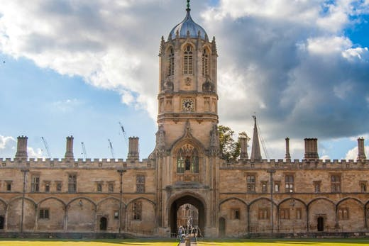 Tom Tower, Christ Church, Oxford.