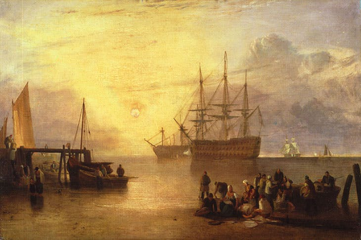 The Sun Setting Through Vapour (c. 1809), J.M.W. Turner.