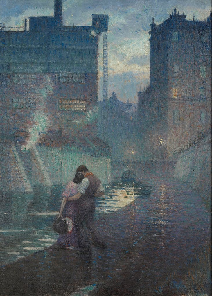 The Towpath (1912), C.R.W. Nevinson