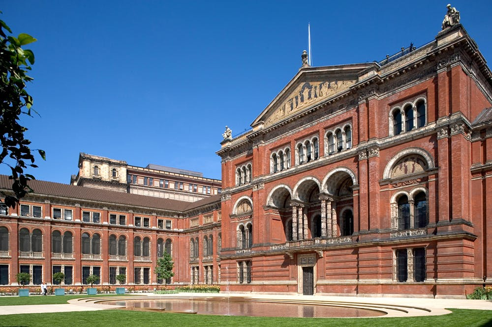 The John Madejski Garden at the Victoria and Albert Museum, London.