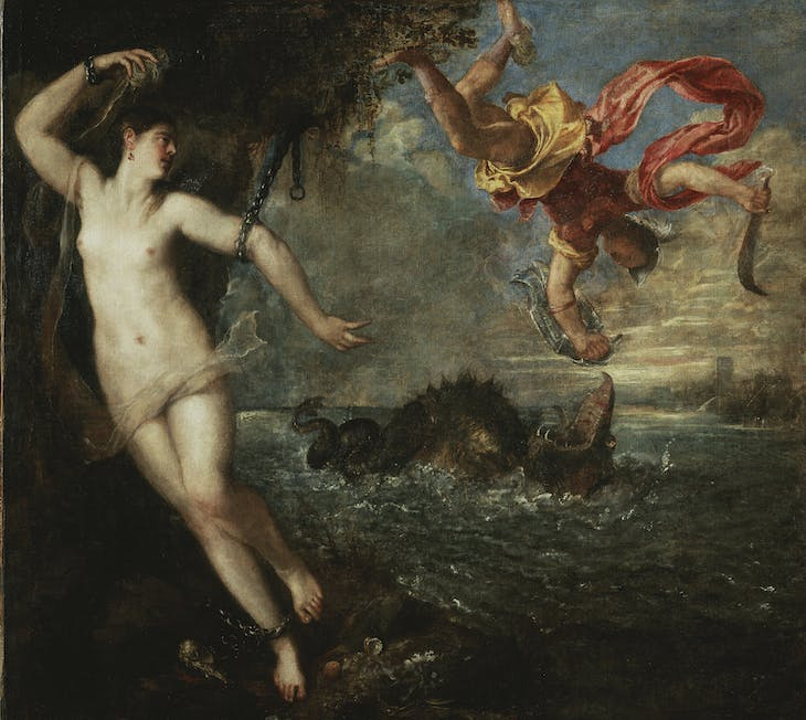 Perseus and Andromeda (c. 1554–56), Titian.