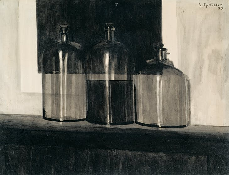 Flasks (1909), Léon Spilliaert. Private collection