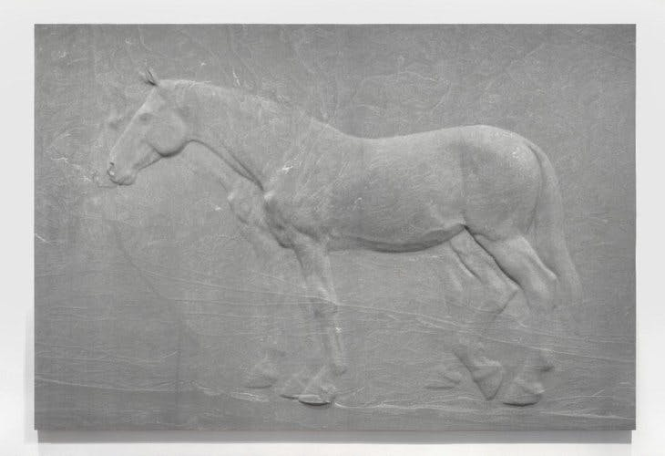 Two Horses (2019), Charles Ray.