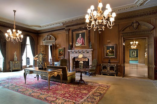 The Living Hall, Frick Collection, New York.
