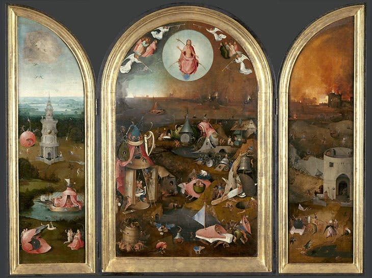 The Last Judgement (c. 1486) Hieronymus Bosch and/or workshop. Groeningemuseum, Bruges.