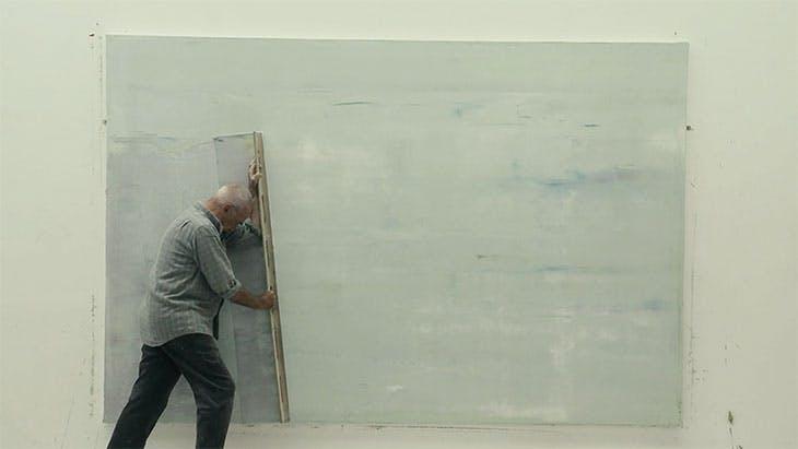Still from Gerhard Richter Painting (2011).