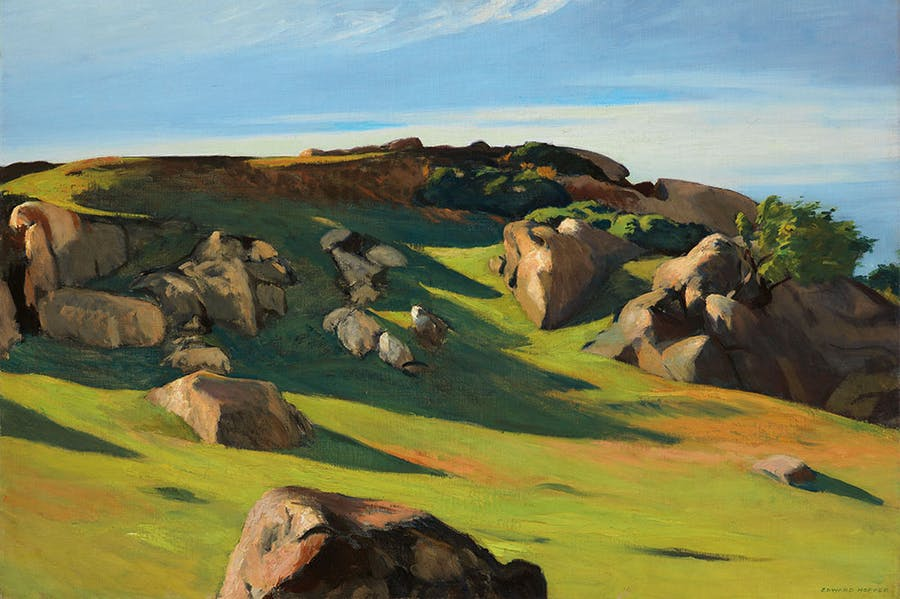 Cape Ann Granite (1928), Edward Hopper