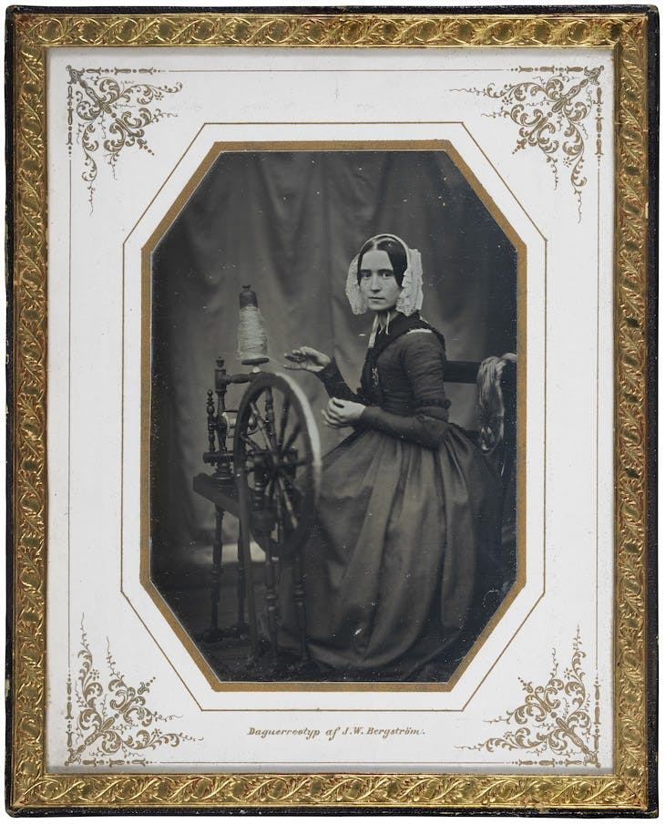 Henriette Charlotta Catharina Ronjon (1817–1891), Wife of the Photographer (c. 1840s), Johan Wihelm Bergström