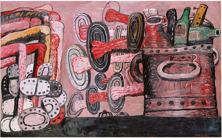 The Street (1977), Philip Guston. Metropolitan Museum of Art, New York.