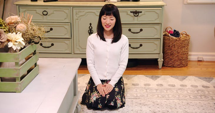 Still from 'Tidying Up with Marie Kondo' (2019). Courtesy Netflix