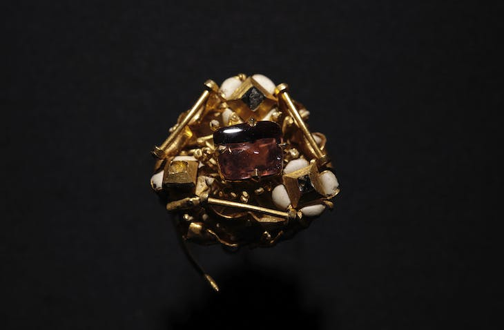 Late medieval cluster brooch (c. 1400–50), France or Germany