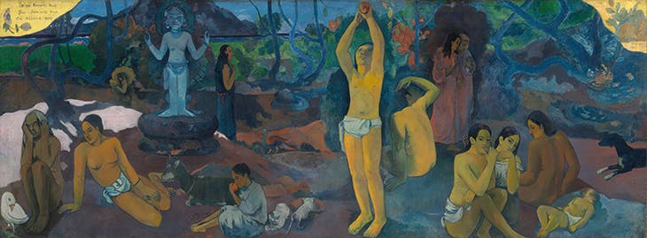 Where Do We Come From? What Are We? Where Are We Going? (1897–98), Paul Gauguin.