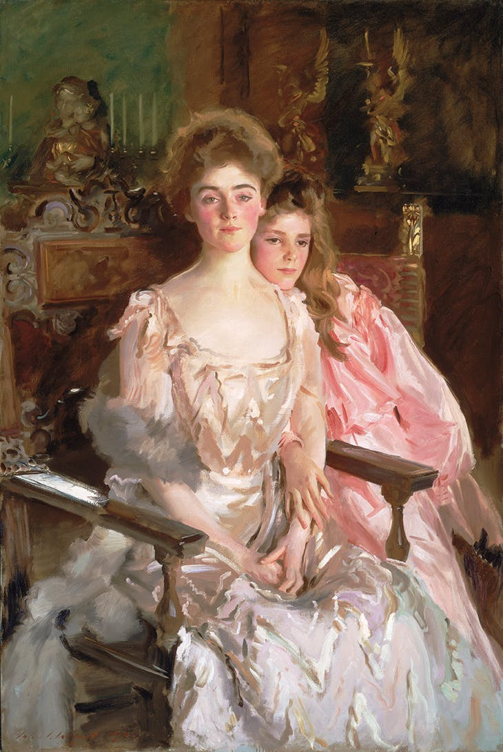 Mrs Fiske Warren (Gretchen Osgood) and her Daughter Rachel (1903), John Singer Sargent.