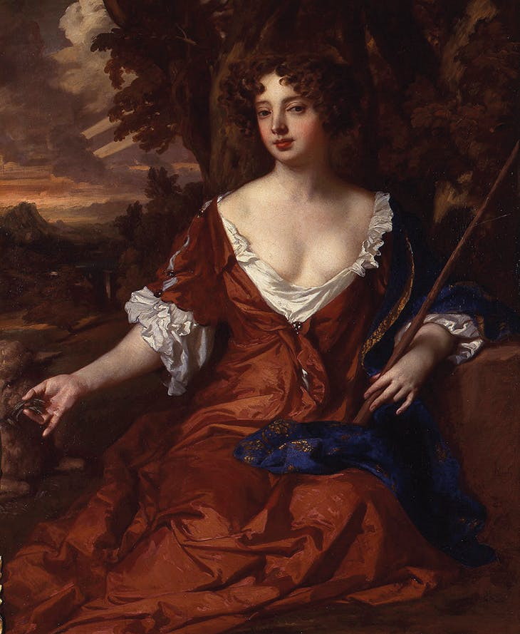 Louise de Kéroualle as a Shepherdess (c. 1671), Peter-Lely. Althorp, Northamptonshire