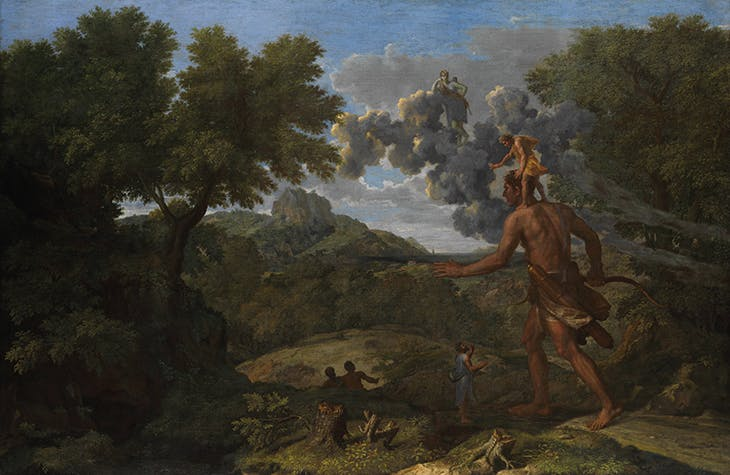 Landscape with Orion (1658), Nicolas Poussin. Metropolitan Museum of Art, New York