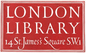 The London Library bookplate, designed by Reynolds Stone in 1951