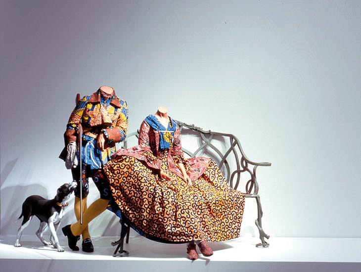 Mr and Mrs Andrews Without Their Heads (1998), Yinka Shonibare.