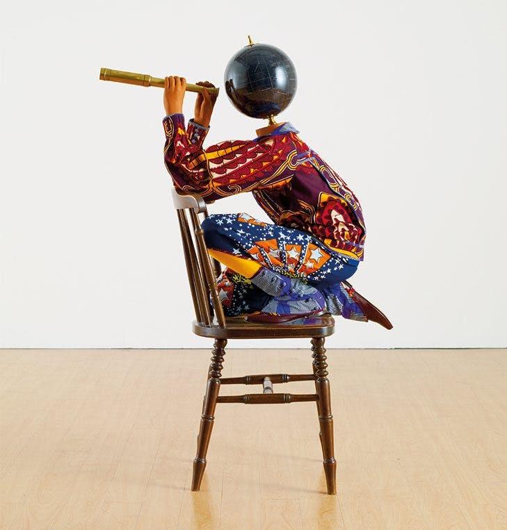 Cheeky Little Astronomer (2013), Yinka Shonibare. Royal Academy of Arts, London.