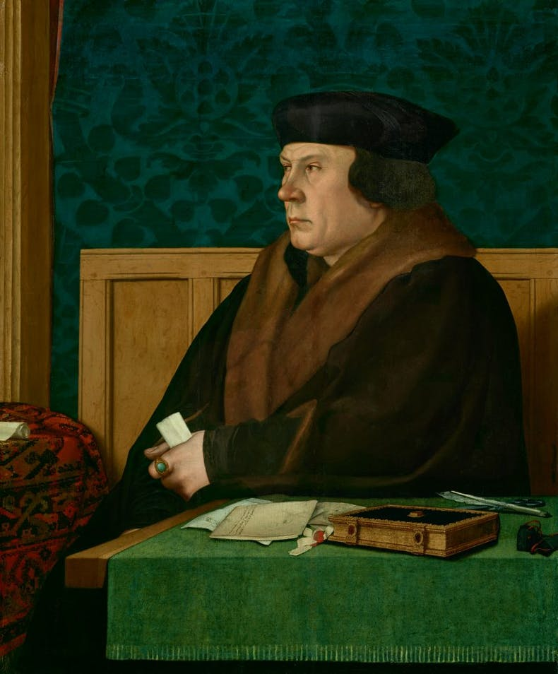 Thomas Cromwell (1532–33), Hans Holbein the Younger. The Frick Collection, New York. Photo: Michael Bodycomb