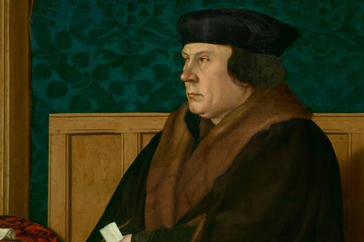 Thomas Cromwell (detail), (1532–33), Hans Holbein. The Frick Collection, New York.