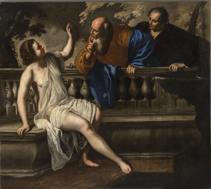 Susanna and the Elders (1652), Artemisia Gentileschi.