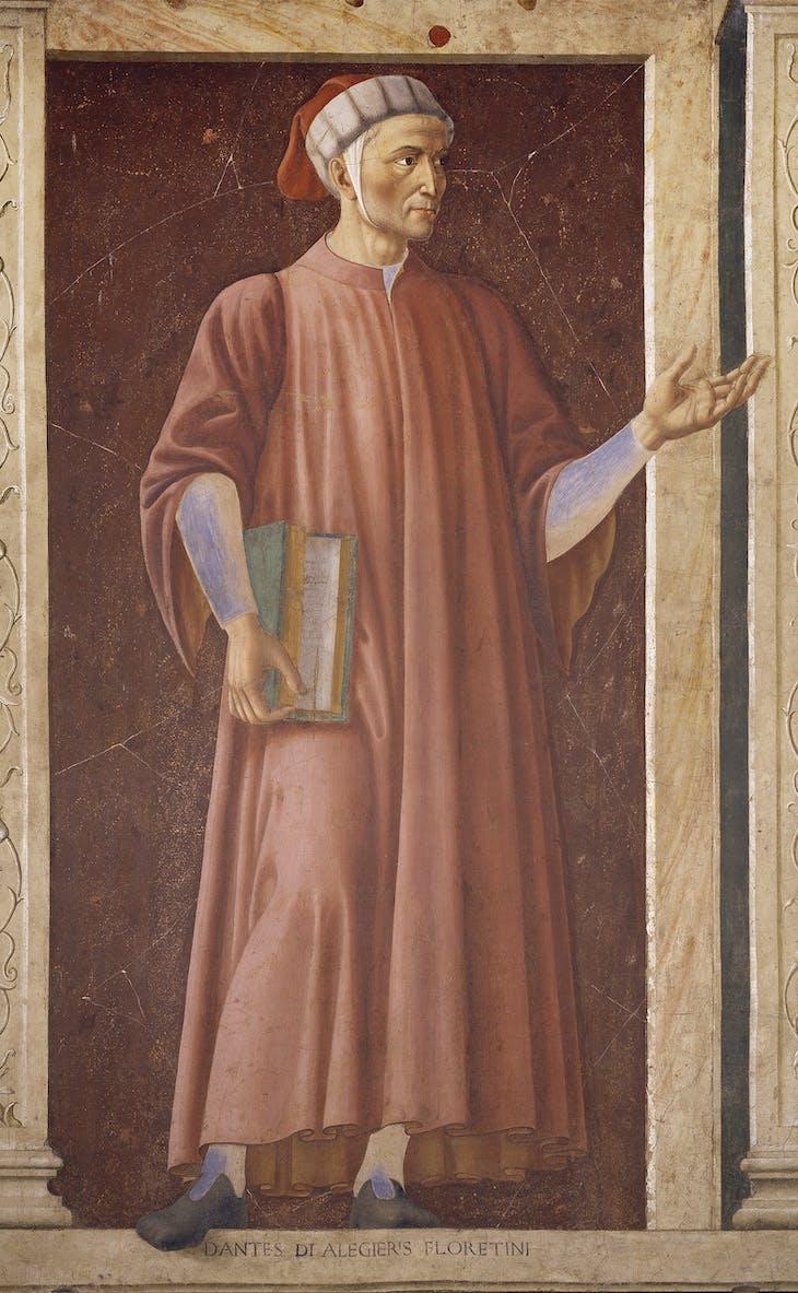 Dante (c. 1448–49), Andrea del Castagno.