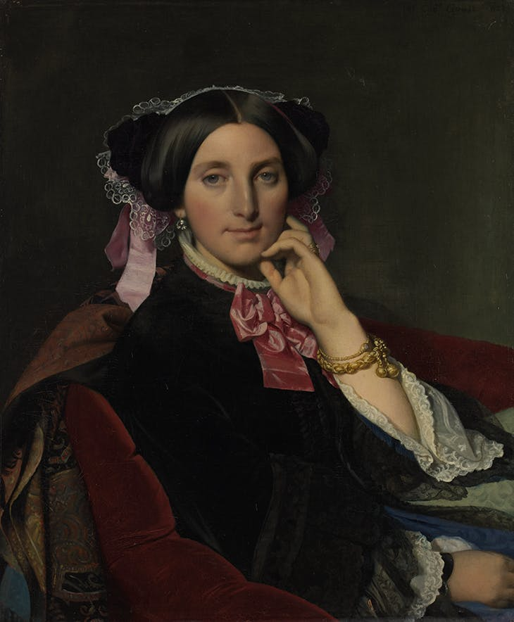 Portrait of Madame Gonse (1852), Jean-Auguste-Dominique Ingres. Musée Ingres Bourdelle, Montauban