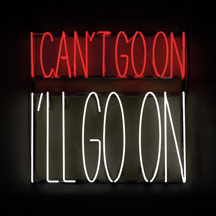 I Can't Go On, I'll Go On (2016), Alfredo Jaar. Image courtesy Alfredo Jaar and Goodman Gallery, London, Johannesburg, Cape Town; © the artist
