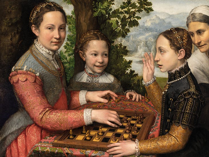 The Chess Game (1555), Sofonisba Anguissola. National Museum, Poznan